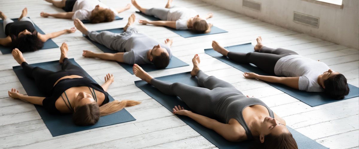 Lunchbreak Yoga class