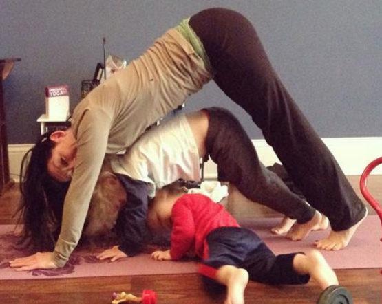 Mommy and Me Postnatal Restorative Yoga